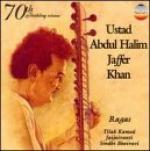 ABDUL HALIM JAFFER KHAN - sitar / tabla - Ragas Tilak Kamod & Jaijaivanti